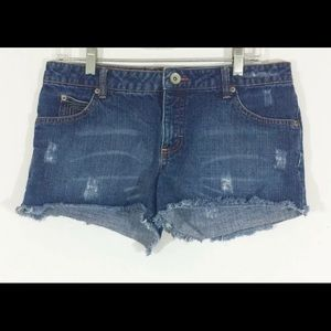 Women's Mossimo Distressed Jean Shorts Size 11